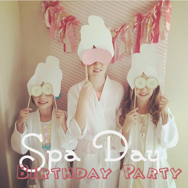 Girls Spa Day Birthday Party
