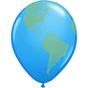 Earth Balloon- Amazing Race Party