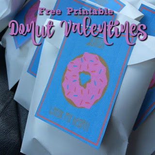 Donut Valentines Day Printable
