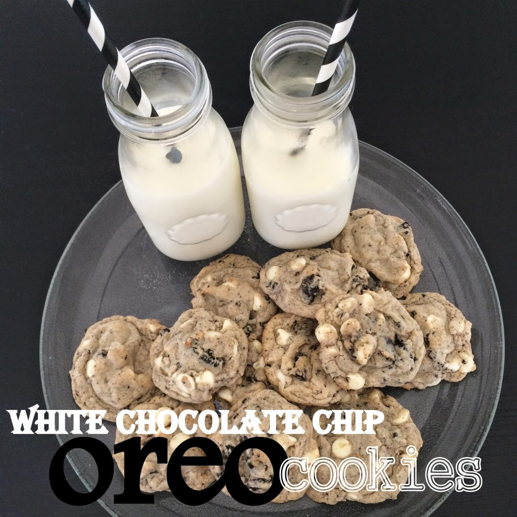White Chocolate Chip Oreo Cookies