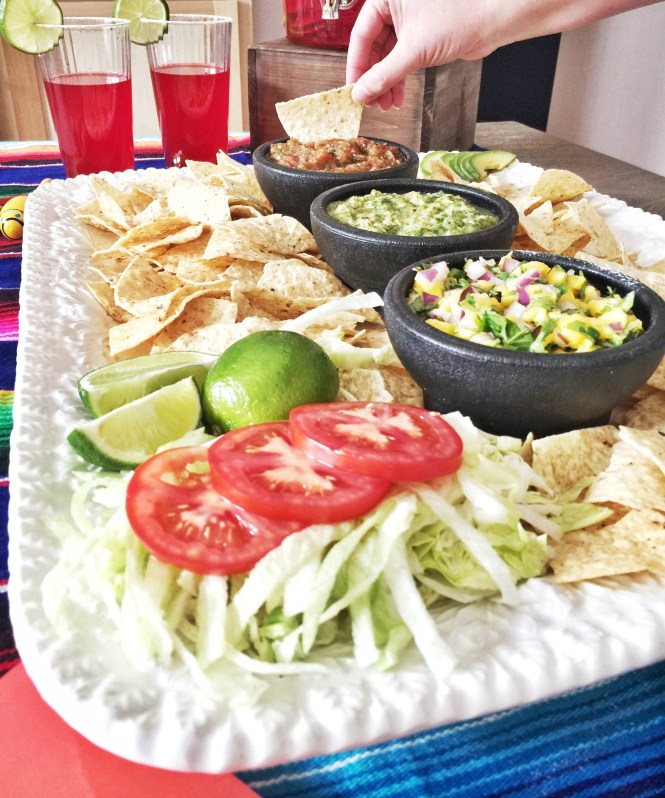 Easy salsa recipe 3 ways for Cinco de Mayo fiesta