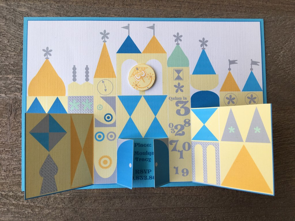 It's a small world invitation