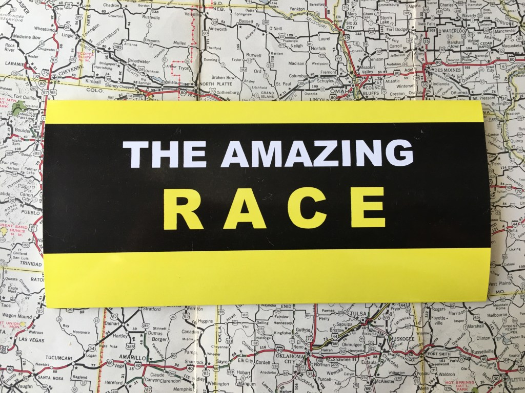 The Amazing Race Invitation