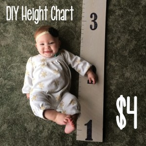 diy height chart