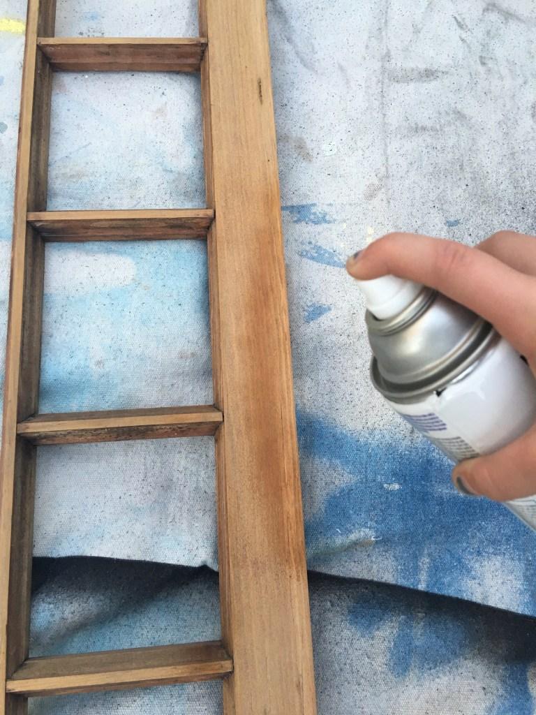 vintage window magnetic chalkboard