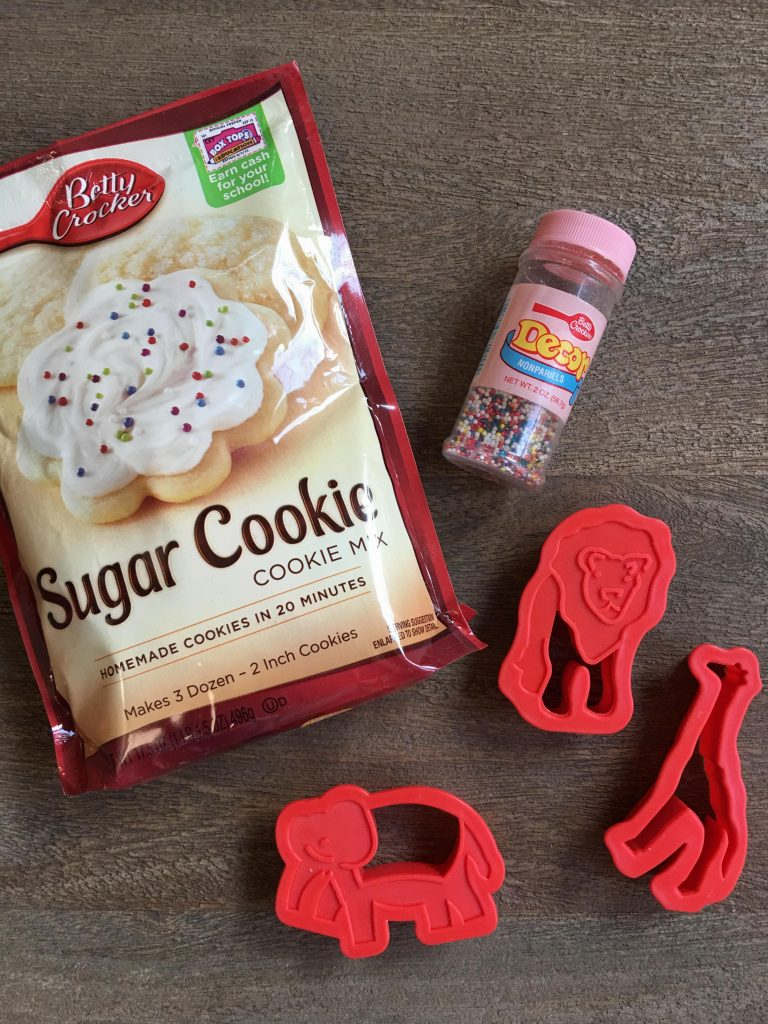 do it yourself animal cracker cookies