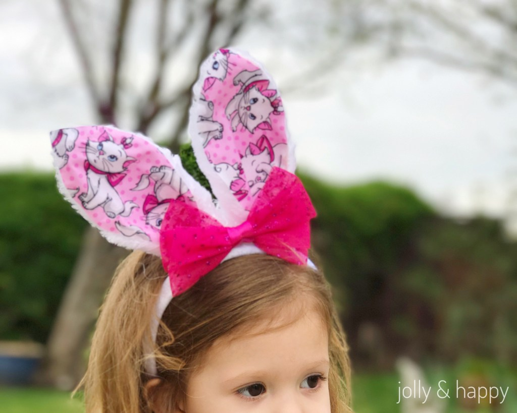 DIY DIsney Inspired Bunny Ears Upcycle