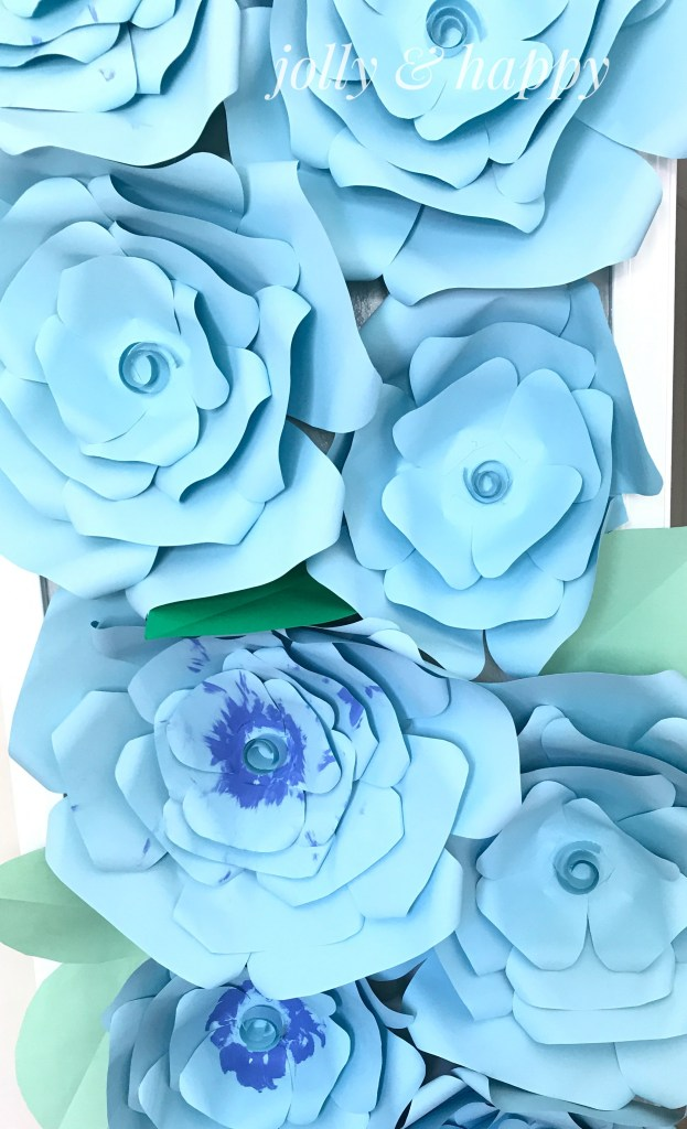 DIY Paper Flowers Jolly & Happy