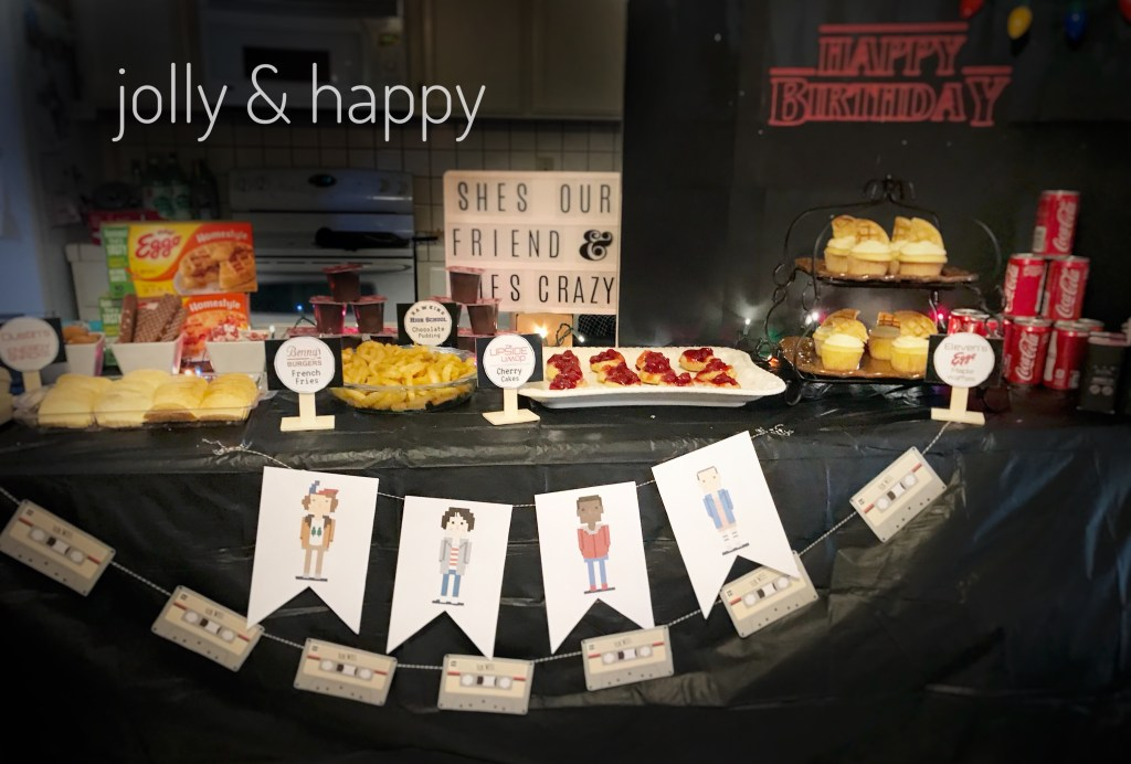 Stranger Things Birthday Party