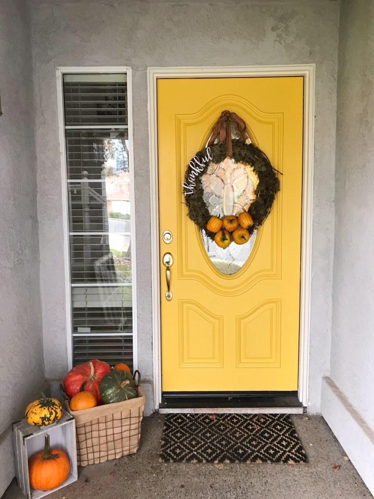 DecoArt Curb Appeal Front Door Refresh
