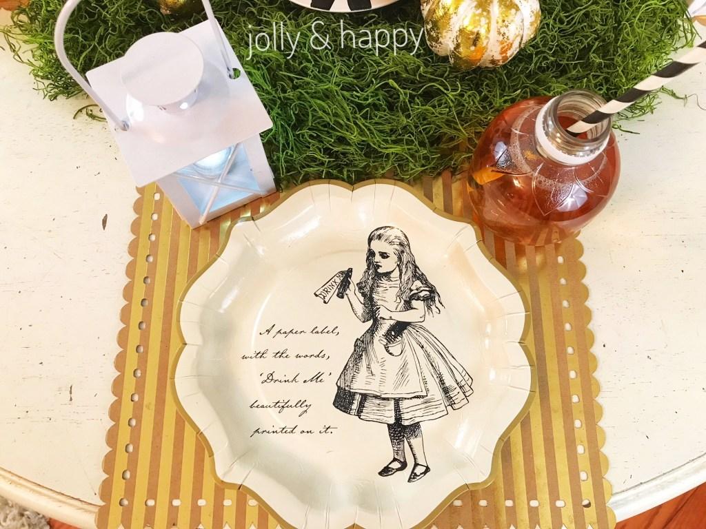 Alice and wonderland friendsgiving