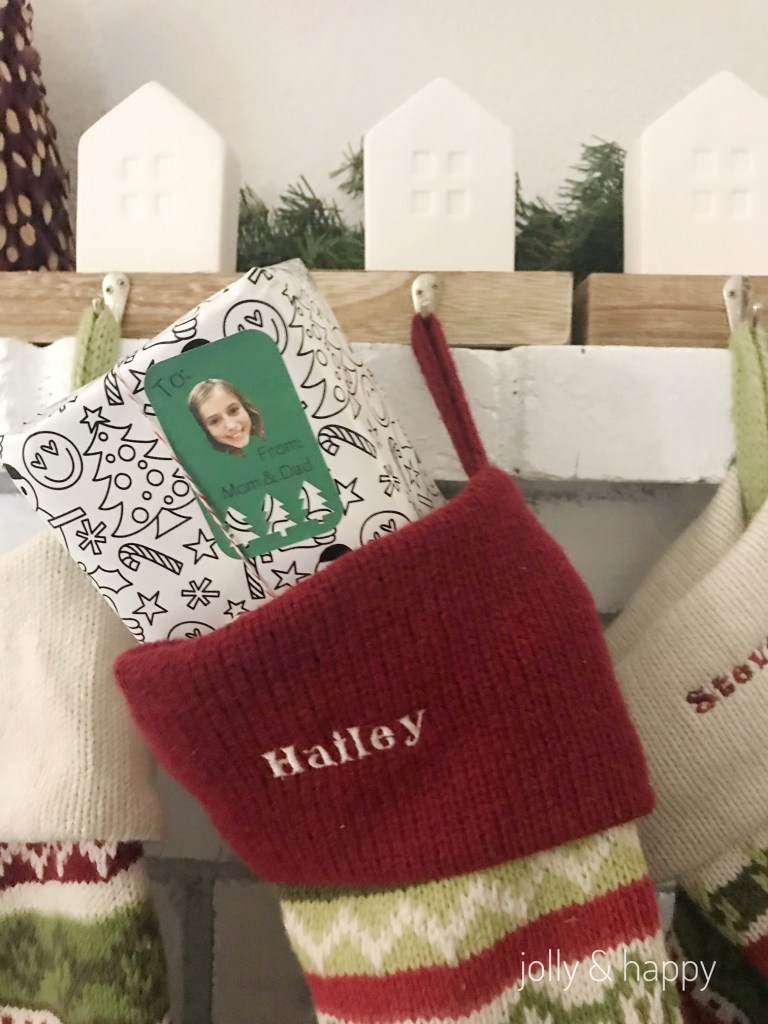 Personalized gift tags with Cricut