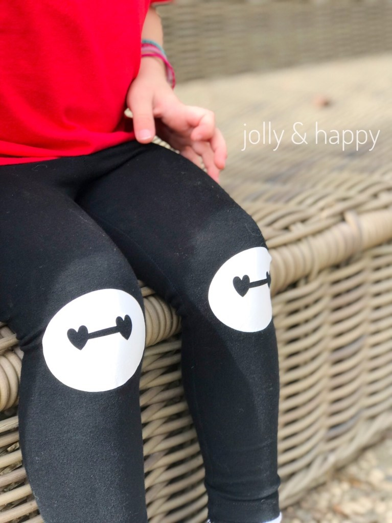 DIY iron-on knee patches