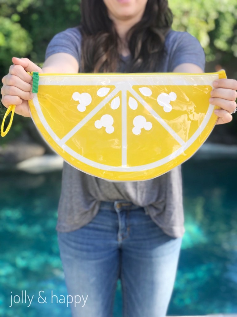 DIY Mickey Lemon Wedge Dry Clutch