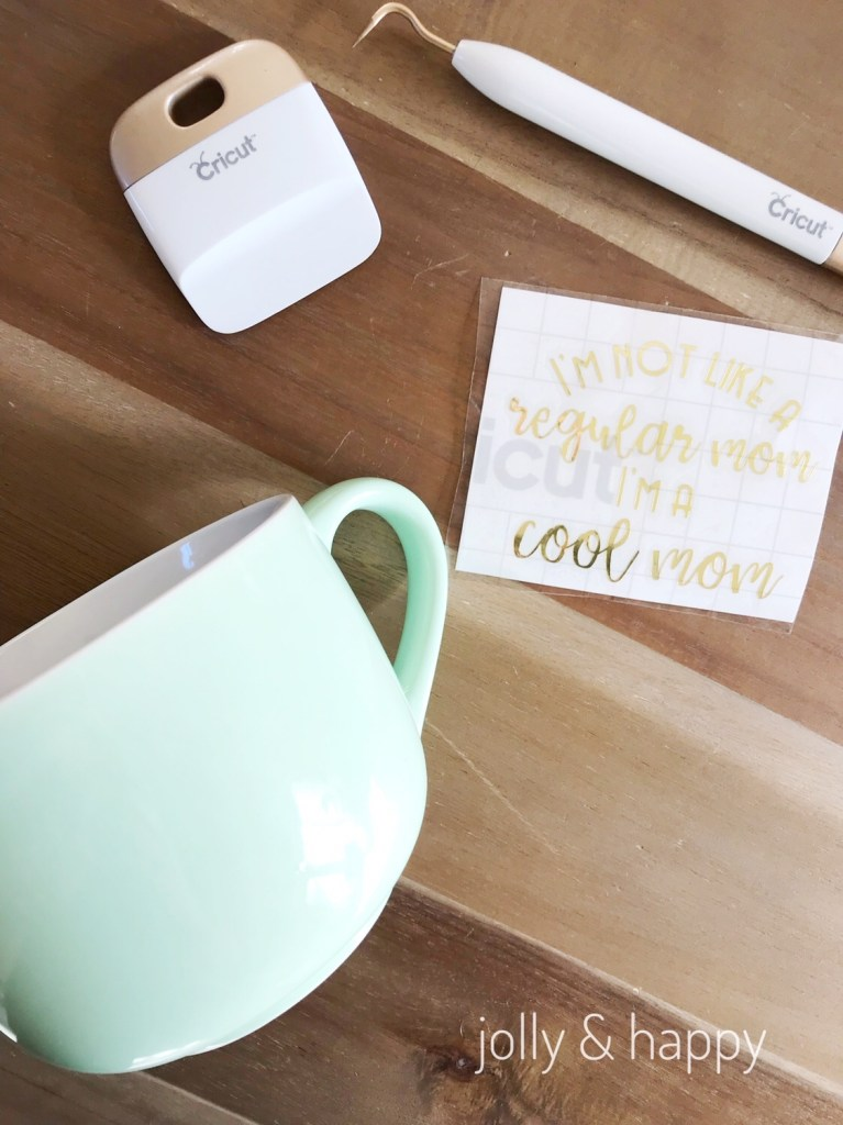 Cricut Mother's Day mug gift for your friends