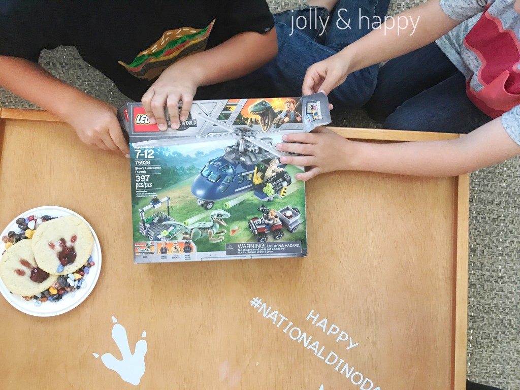 National Dino Day with Lego Jurassic World