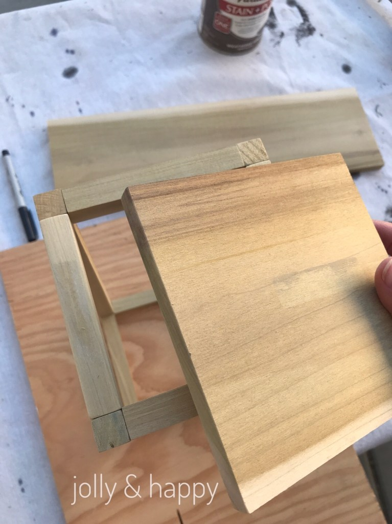 build your own wooden lantern