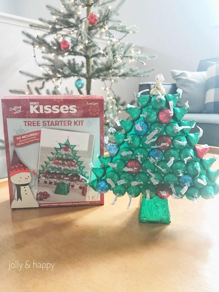 Floracraft Hershey's Kisses tree starter kit