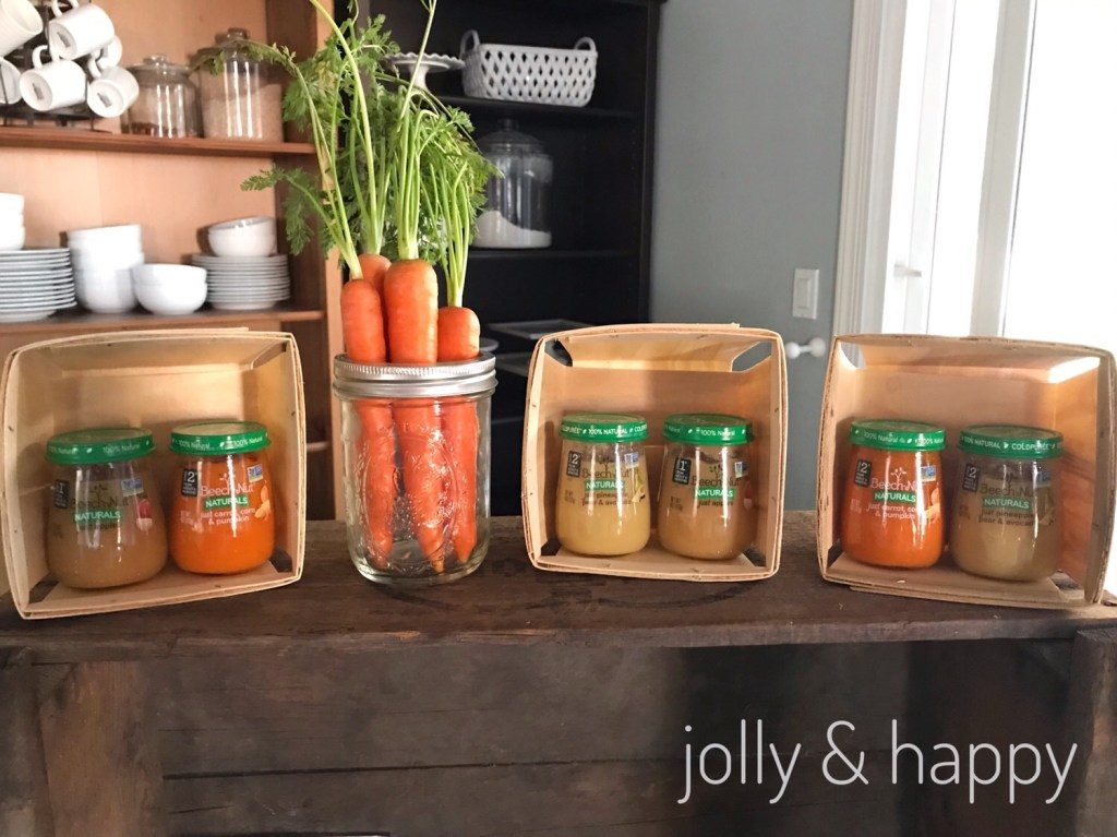 All Natural Beech Nut Naturals baby food