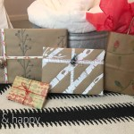 DIY Wrapping Paper with DecoArt Stencils