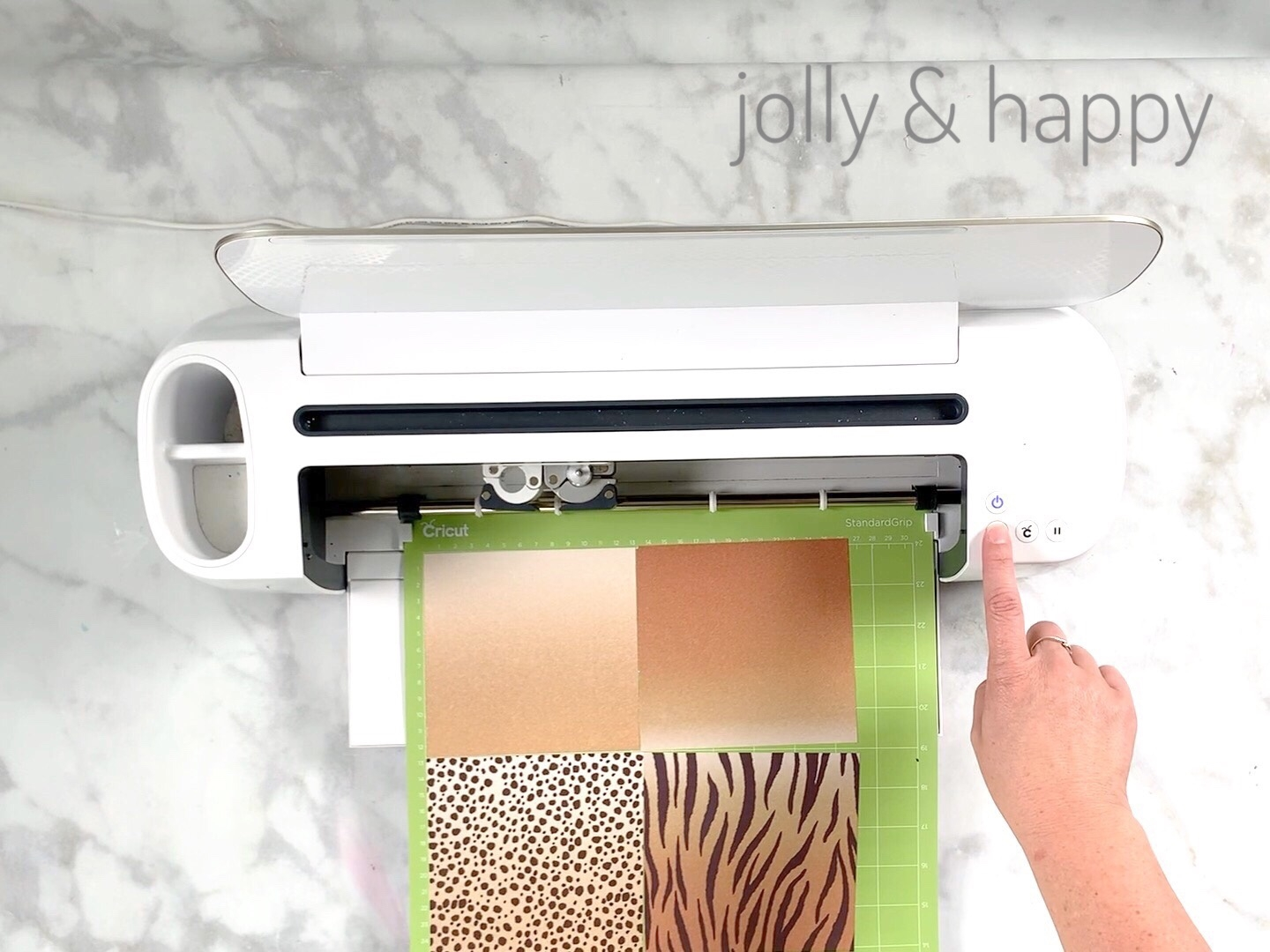 Cut the transfer sheets with Cricut Maker machine