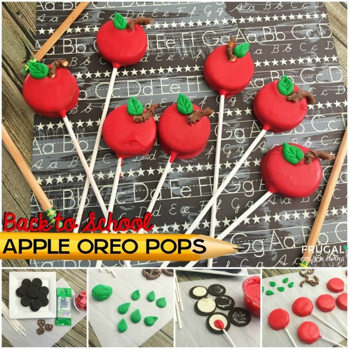 back to school Oreo pops