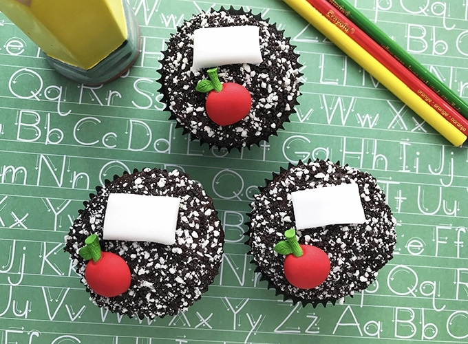 composition notebook back to school cupcakes