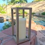 DIY Rustic Wooden Lantern