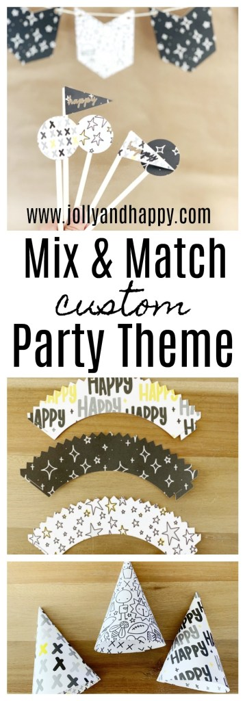 mix & Match custom party theme