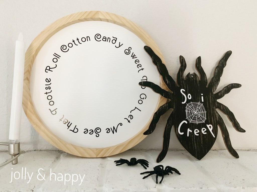 Song inspired Halloween Decorations
