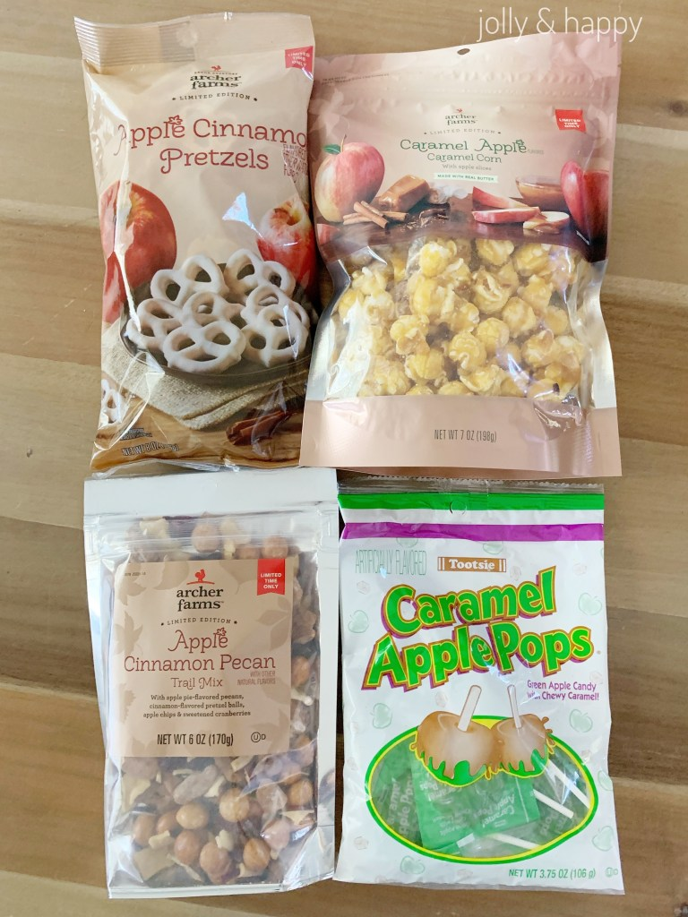 apple flavored treats for a fall gift