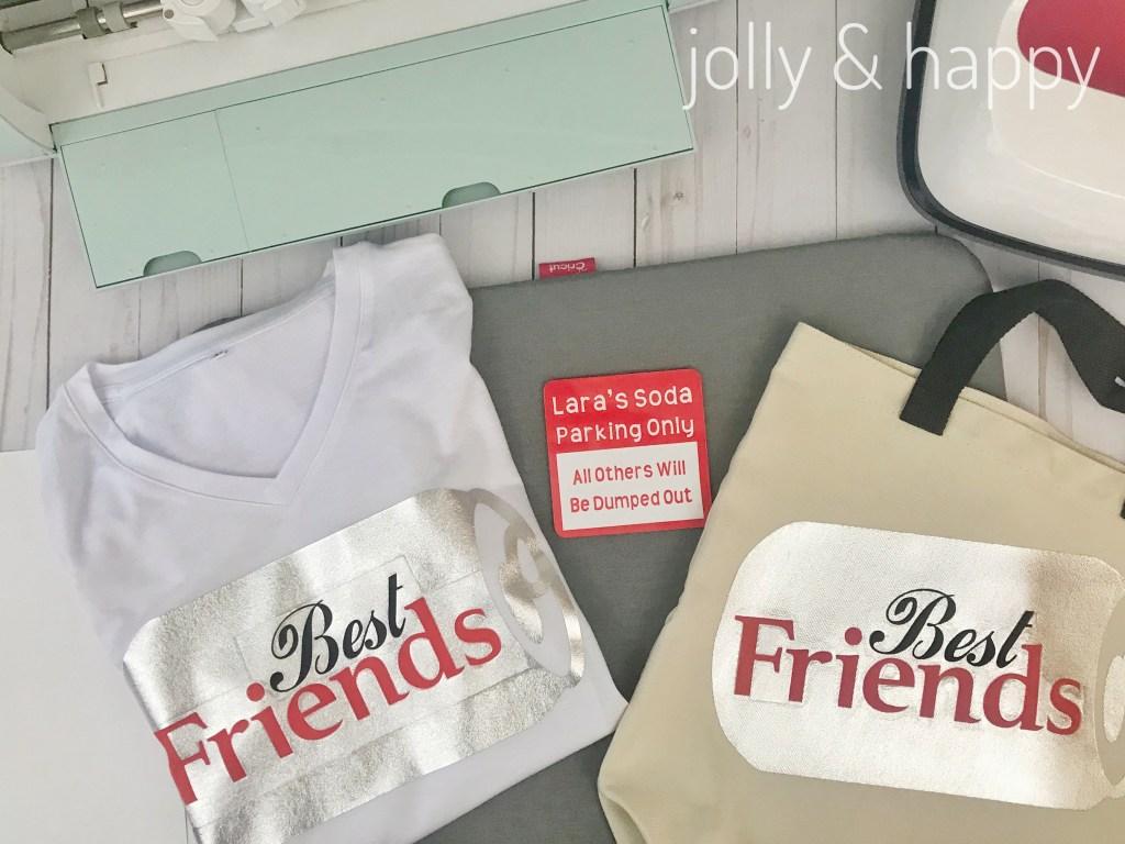 diet soda best friends gift set
