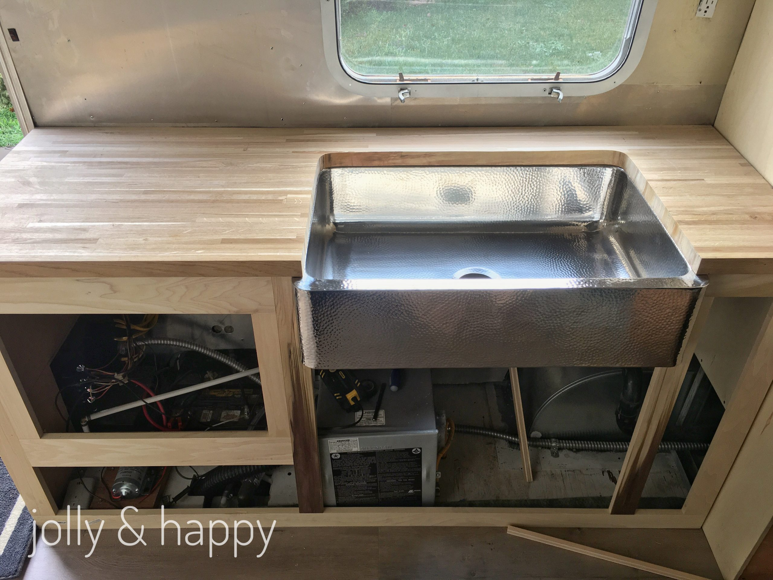 airstream kitchen reno