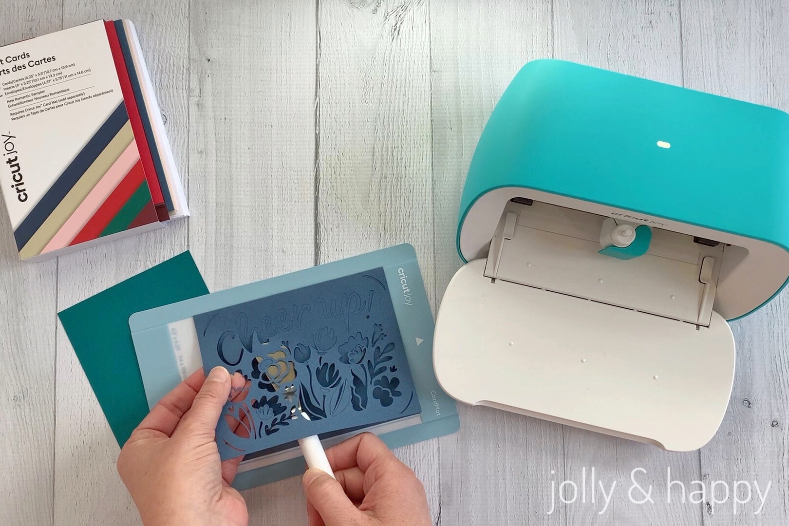 cricut joy card making