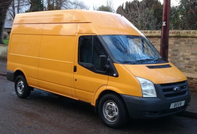 Jolly Yellow Beer Van