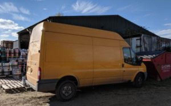 The original Jolly Yellow Beer Van