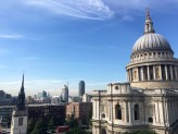 St. Paul's Cathedral from the mall roof