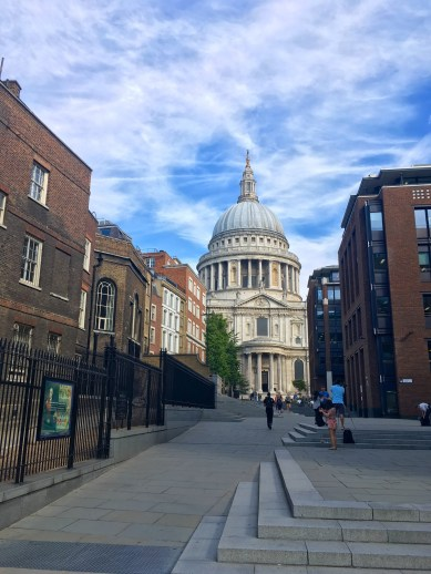 Sightline of St. Paul's Cathedral