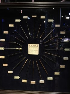 All the characters wands
