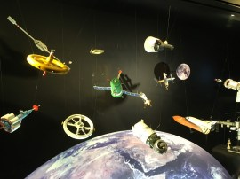 Models of space technology