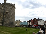 Windsor (ps: it's a criminal offence to walk on this grass!)
