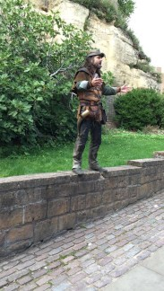 Robin Hood, in the flesh