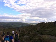 Hiking the Roaches