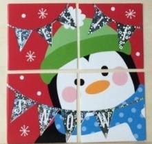 Jolly Parenting Recycled Christmas Card Jigsaw