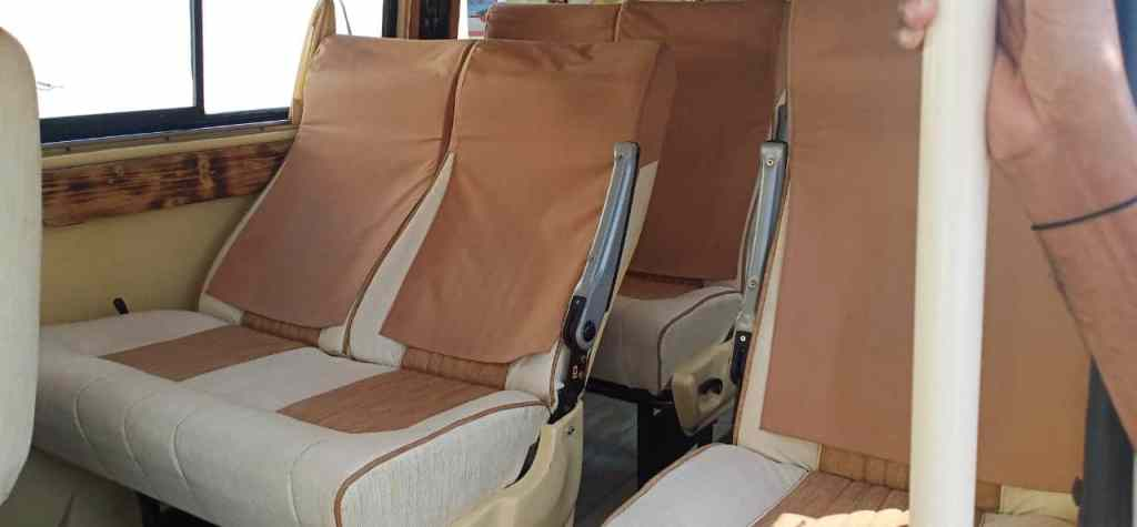 12 Seater Coaster Bus Hire