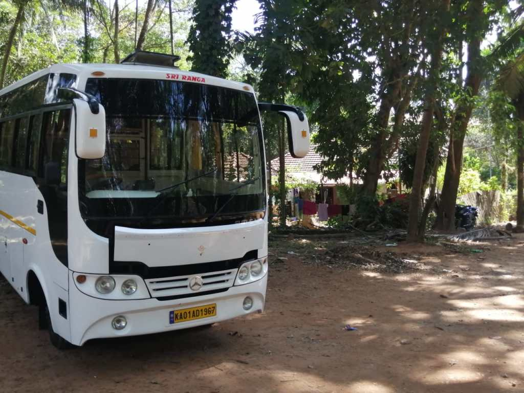 25 Seater Coaster Bus Hire