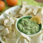 orange guacamole