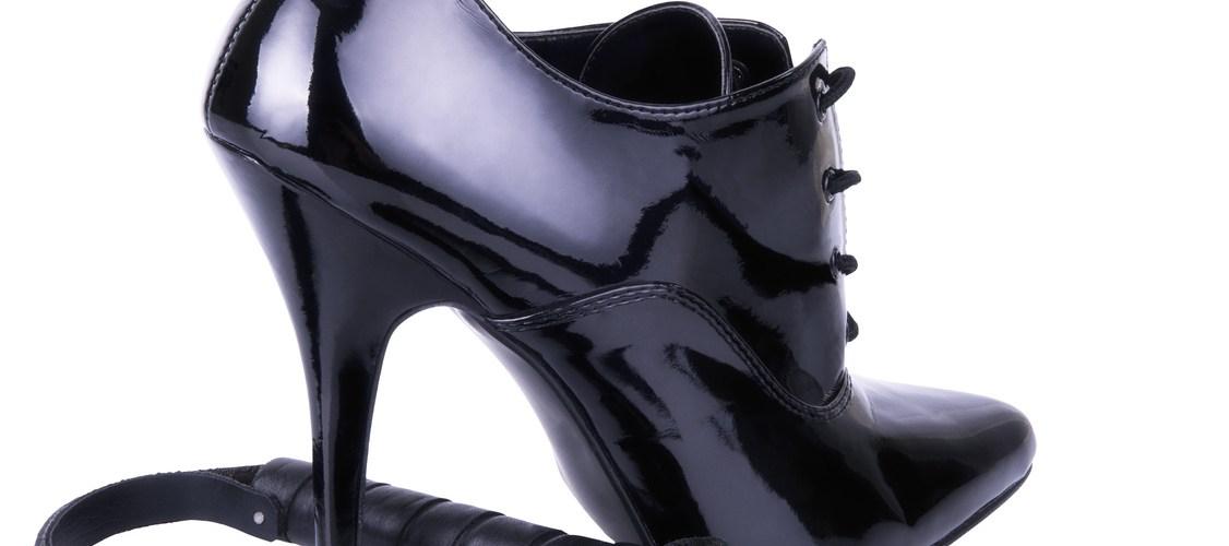 High heel and whip