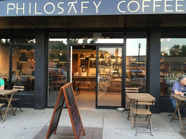 Philosafy Coffee facade.
