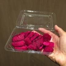 Fresh dragonfruit